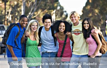 Cheapest Universities in USA for International Students