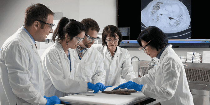 What's the traditional role of a pathologist