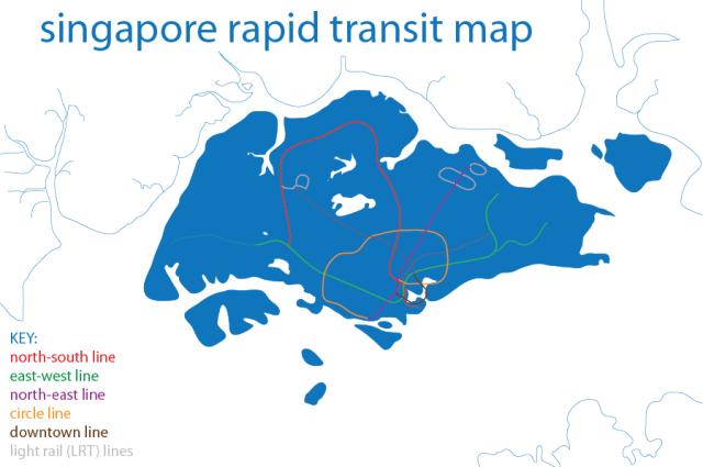シンガポールMRT地下鉄