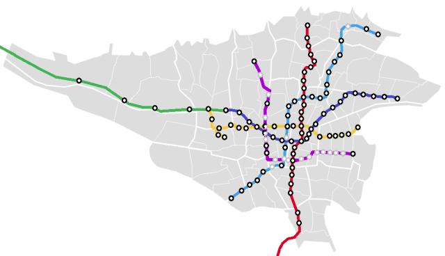 テヘランメトロ地下鉄