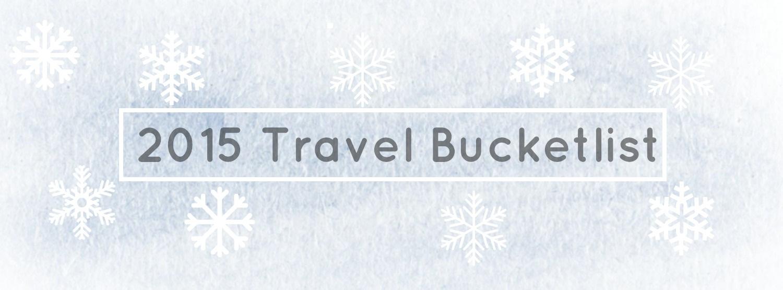 Reiseziele für 2015