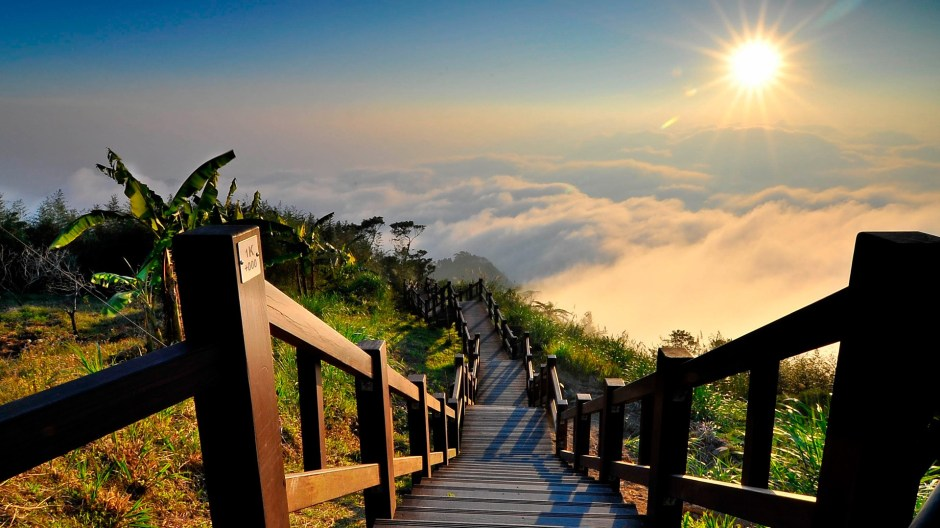 Yushan national park Taiwan