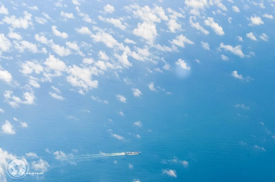 Anflug Honkong