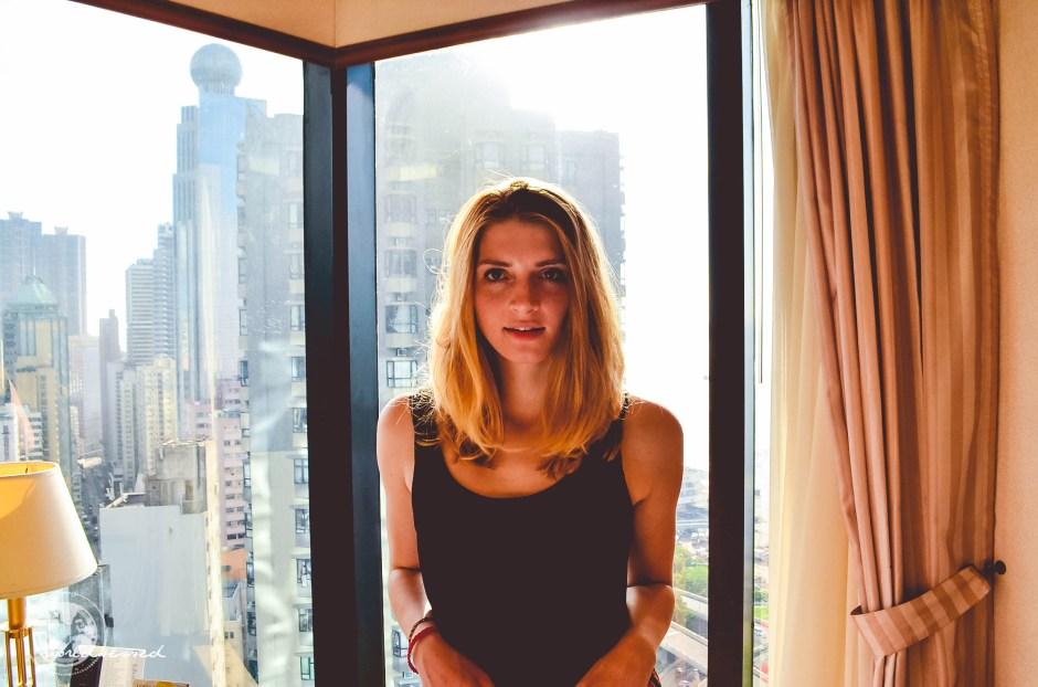 HongKong Hotel Selfie