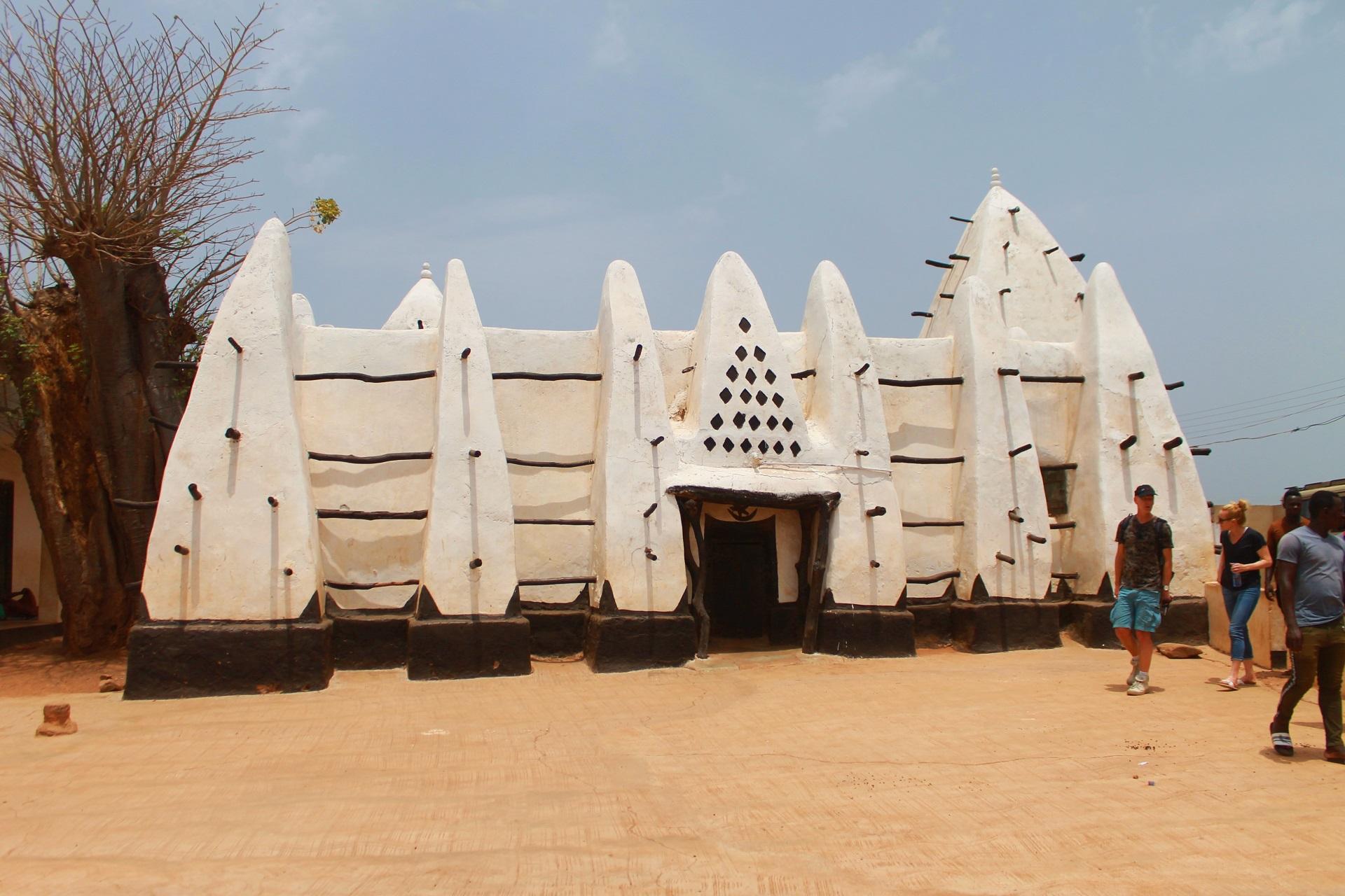 The famous age-old Larabanga mosque
