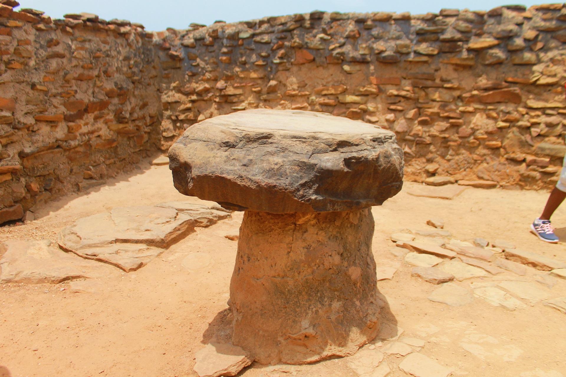 Mystic stone found in Larabanga