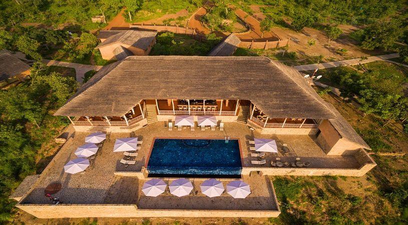 Zaina Lodge, situated within Mole National park - Larabanga