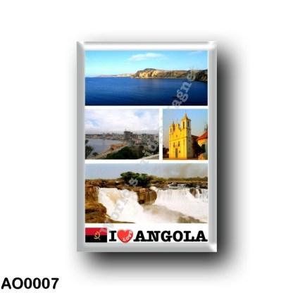 AO0007 Africa - Angola - Angola - I Love