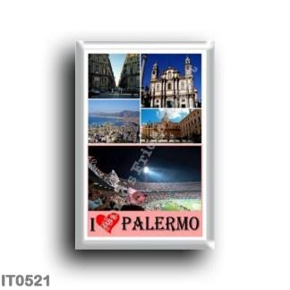 IT0521 Europe - Italy - Sicily - Palermo - I Love