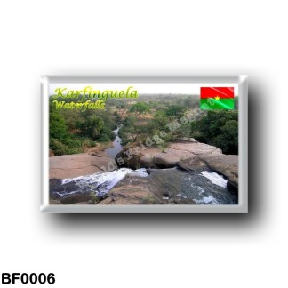 BF0006 Africa - Burkina Faso - Karfinguela - Waterfalls