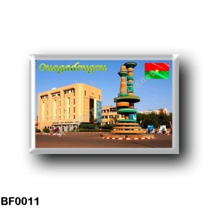 BF0011 Africa - Burkina Faso - Ouagadougou - Place des cineastes Ouaga