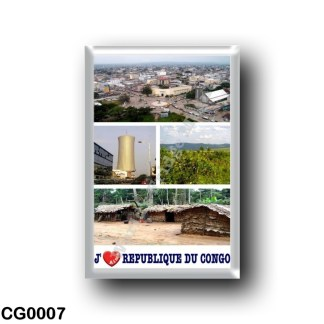 CG0007 Africa - Republic of the Congo - I Love