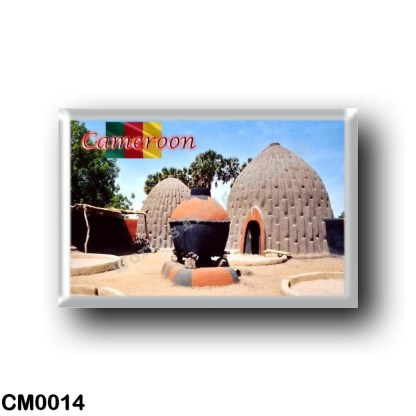 CM0014 Africa - Cameroon - The homes of the Musgum