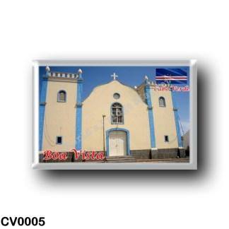 CV0005 Africa - Cape Verde - Boa Vista - Igreja de Santa Isabel