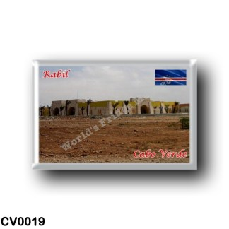 CV0019 Africa - Cape Verde - Rabil - Airport