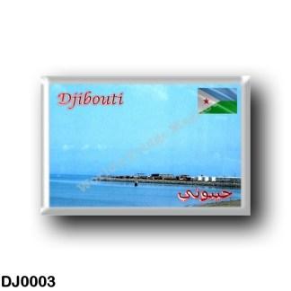 DJ0003 Africa - Djibouti - Aral Plage