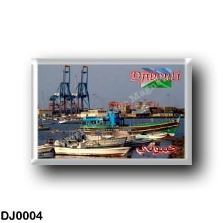 DJ0004 Africa - Djibouti - Djibouti Port