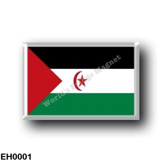EH0001 Africa - Western Sahara - Flag