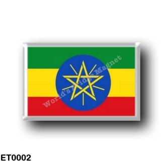 ET0002 Africa - Ethiopia - Ethiopian Flag