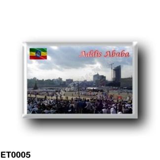ET0005 Africa - Ethiopia - Addis Ababa - Meskal square