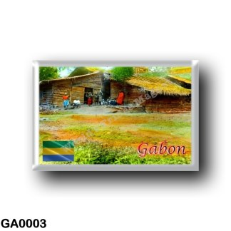 GA0003 Africa - Gabon - Collectie Tropenmuseum