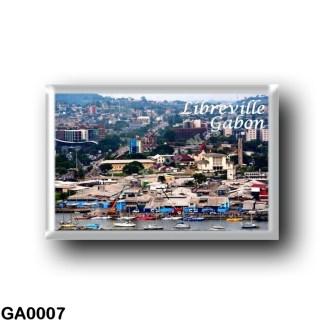 GA0007 Africa - Gabon - Libreville - Panorama