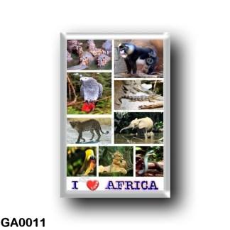 GA0011 Africa - Gabon - I Love Africa