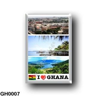 GH0007 Africa - Ghana - I Love