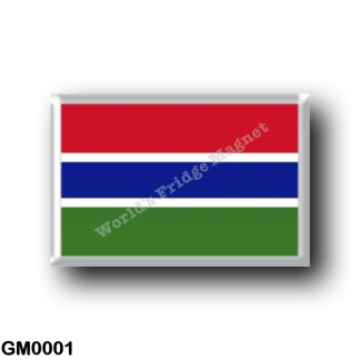 GM0001 Africa - The Gambia - Flag