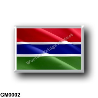 GM0002 Africa - The Gambia - Flag Waving