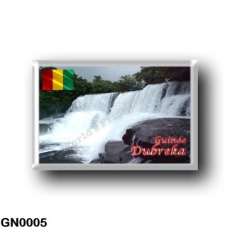 GN0005 Africa - Guinea - Dubreka - Cascades