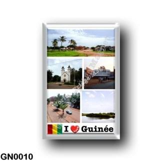 GN0010 Africa - Guinea - I Love Guinée