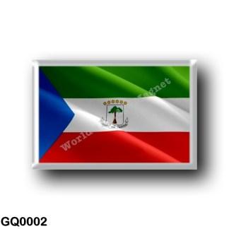 GQ0002 Africa - Equatorial Guinea - Flag Waving