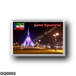 GQ0003 Africa - Equatorial Guinea - Bata - Torre de la Libertad