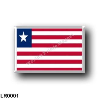 LR0001 Africa - Liberia - Flag