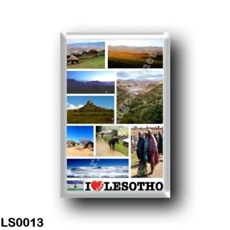 LS0013 Africa - Lesotho - I Love