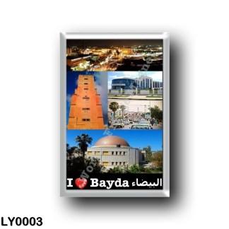 LY0003 Africa - Libya - Bayda - I Love
