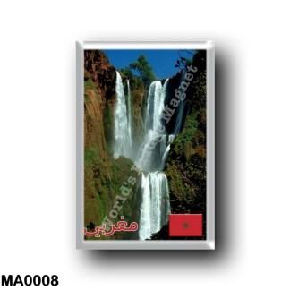 MA0008 Africa - Marocco - Cascades d'Ouzoud