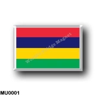 MU0001 Africa - Mauritius - Flag