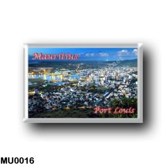 MU0016 Africa - Mauritius - Port Louis - Panorama
