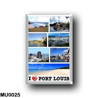 MU0025 Africa - Mauritius - I Love