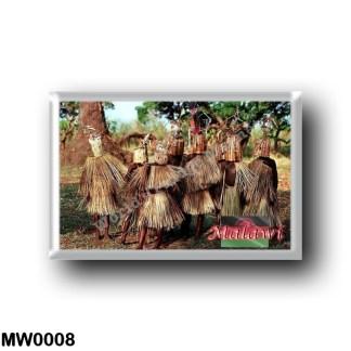 MW0008 Africa - Malawi - WaYao - Ritual of Boys