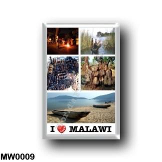 MW0009 Africa - Malawi - I Love