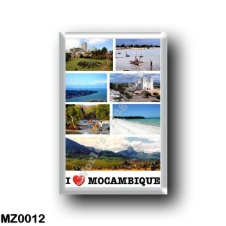 MZ0012 Africa - Mozambique - I Love