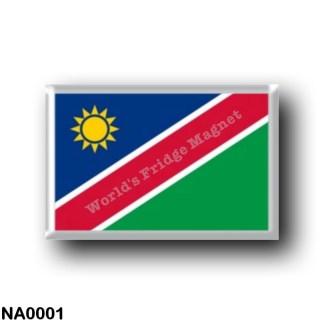 NA0001 Africa - Namibia - Flag
