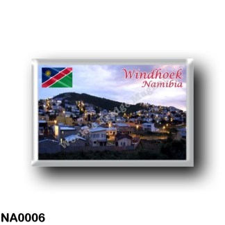 NA0006 Africa - Namibia - Windhoek By Night