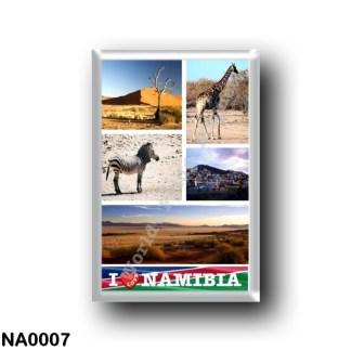 NA0007 Africa - Namibia - I Love