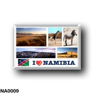 NA0009 Africa - Namibia - I Love