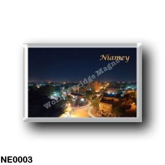 NE0003 Africa - the Niger - Niamey Panorama