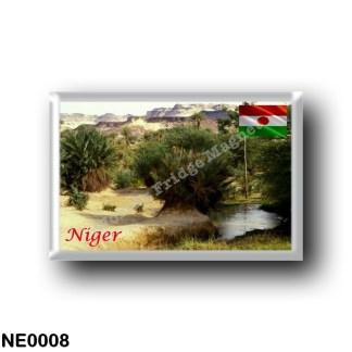 NE0008 Africa - the Niger - Oasis Bilma